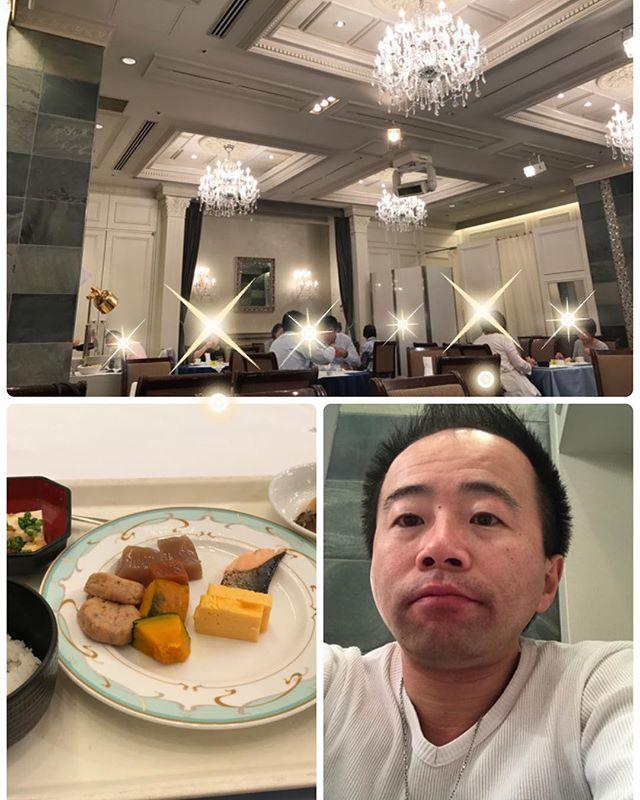 【一流ホテルの朝食会】背伸びして、慣れているフリ^^; #銀座 #朝食会